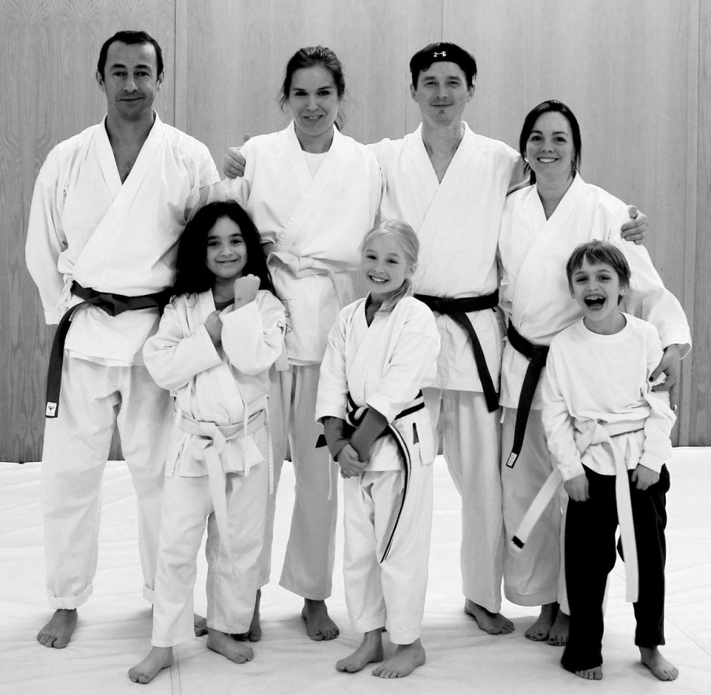 kids and family karate photo